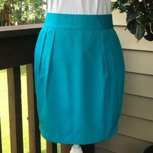 Banana Republic Factory Turquoise Pencil Skirt 4